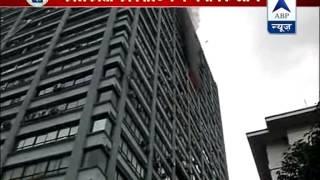 Fire in 24 storey Kolkata building - ABPNEWSTV