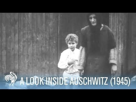 Shocking Footage from Auschwitz Concentration Camp