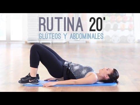 Rutina 20 minutos | glúteos y abdominales