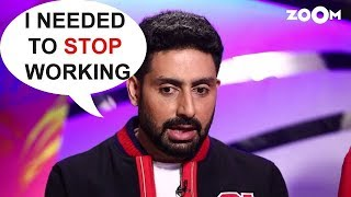 Abhishek Bachchan Talks About His Return After 2 Years With 'Manmarziyaan' - ZOOMDEKHO