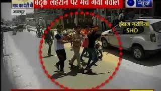 जयपुर में भगवान परशुराम की शोभायात्रा के दौरान हंगामा, SHO को हाथ जोड़कर मांगनी पड़ी माफी - ITVNEWSINDIA
