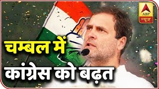 ABP Exit Poll | Congress leading with 21 seats in MP's Chambal - ABPNEWSTV
