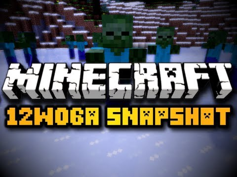 Minecraft 12w06a Snapshot - CAT SOUNDS, RARE MOB DROPS, ZOMBIE ATTACKS, & MORE! (HD)
