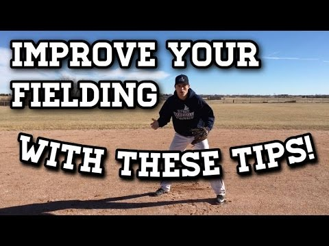 How To: Tips to Improve Your FIELDING in Baseball!
