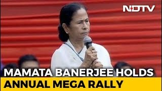 At Her Mega Rally, Mamata Banerjee Makes A Prediction For 2019 Elections - NDTV