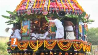 Vontimitta Kodandarama Swamy Rathotsavam In Kadapa | iNews - INEWS