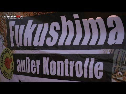 """Demo """"Fukushima - keine Entwarnung"""" zum AKW Neckarwestheim"""