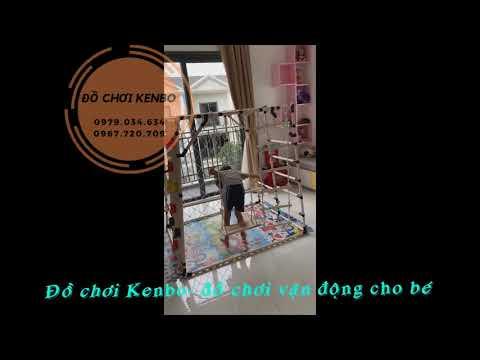 Xà đu Kenbo leo núi- tích hợp đầy đủ công năng cho bé