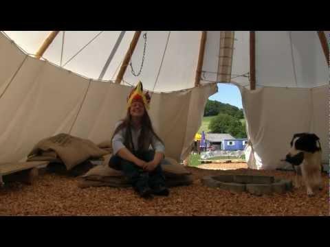 Wie Kinder im Indianer-Camp Hessen (Wasserkuppe Rhön) im Sommer leben zeigt Andrea Seifert