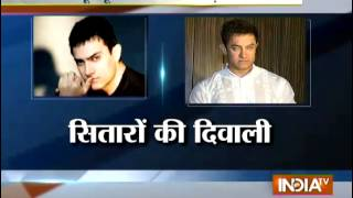 Bollywood stars happening Diwali celebration - INDIATV