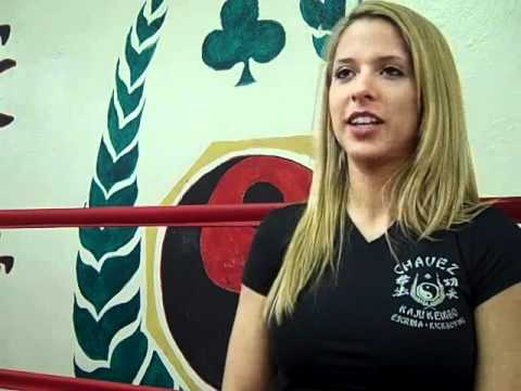 Angelica Chavez Video Interview for EvolutionCombatSports.com