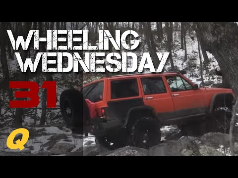 Wheeling Wednesday 031 - We got a first timer over here