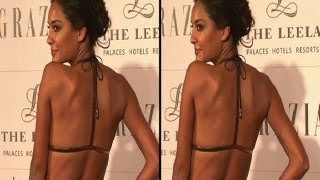 Lisa Haydon goes part topless at Grazia awards - Bollywood Country Videos - BOLLYWOODCOUNTRY