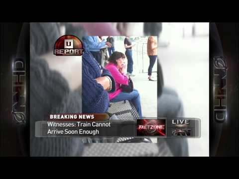 Breaking News: Woman Crying On Train Platform