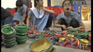 India's visually impaired children make lamps, candles to spread light this Diwali - ANIINDIAFILE