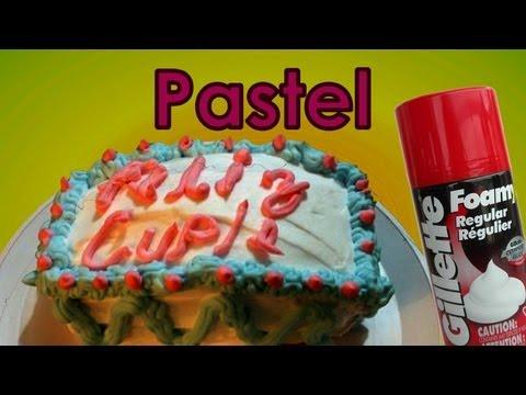 Como hacer un pastel de broma con crema de afeitar | Ideas para bromas. Platica Polinesia
