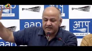 Deputy Chief Minister Manish Sisodia Exposes BJP Loot With MCD | Mango News - MANGONEWS