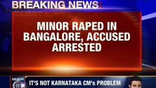 17 year old raped in Bangalore - NEWSXLIVE