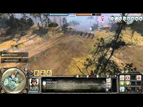 Company of Heroes 2 - Beta Stress Test pc full Grafica y HD Nvidia Geforce Gtx 680 msi twin frozr OC