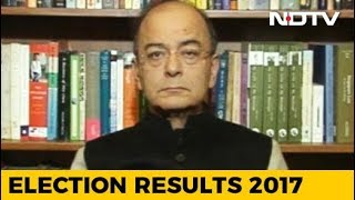 Local Issues Responsible For BJP's Loss In Saurashtra Region Of Gujarat: Arun Jaitley - NDTV