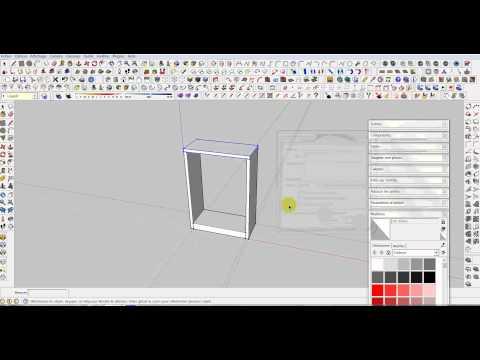 tuto creation de composant dynamique sketchup partie1