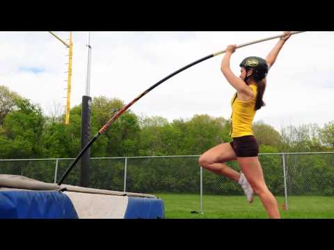 High school pole vaulting