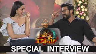 Ram Charan and Kiara Advani Special Interview About Vinaya Vidheya Rama | TFPC - TFPC