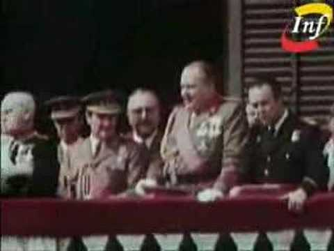 ultimo discurso de Francisco Franco