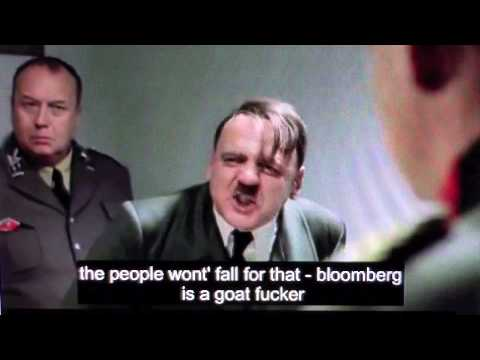 Hitler gets pissed his time travel plot fails.