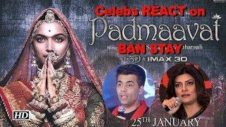 Celebs REACT to 'Padmaavat' BAN STAY - IANSINDIA