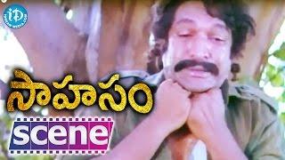 Sahasam Movie Climax Scene - Jagapathi Babu    Bhanu Chander    Suresh Krishna - IDREAMMOVIES