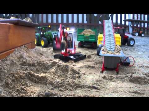 RC Bruder Bagr HR16 part 1