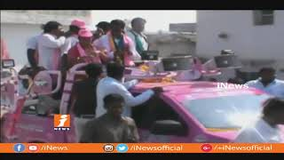 TRS Candidate Vemula Prashanth Reddy Election Campaign In Balkonda Constituency | iNews - INEWS