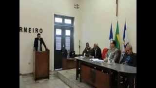 Sandro da Banca fala que a COMPESA tem agido após intervenção da Câmara Municipal da Vitória
