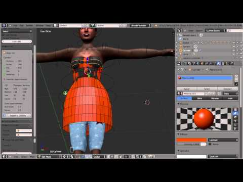 Avastar: -4- Mesh attachments (Dress)