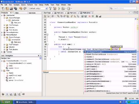 Java Network Programming|Client Server programming in java |Java Video Tutorials|Part 2