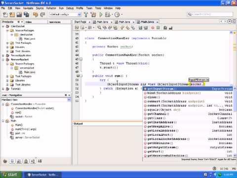 Java Network Programming|Client Server programming in java |Java Video Tutorials|Part 2