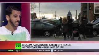 Racial profiling? EasyJet kicks Muslims off plane after ISIS accusations - RUSSIATODAY