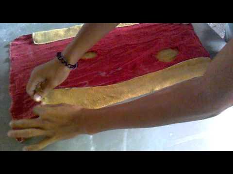 A arte de fazer um pênis com uma toalha.mp4