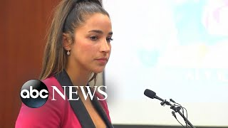 Two-time Olympian Aly Raisman speaks at sentencing for ex-USA Gymnastics doctor - ABCNEWS