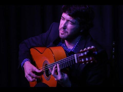 Yago Santos - guitarra flamenca en concierto