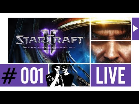 STARCRAFT II LIVESTREAM ᴴᴰ #001 ►Leiser Tim◄ Twitch TV Broadcast 07.03.2014 ⁞HD⁞ ⁞Deutsch⁞