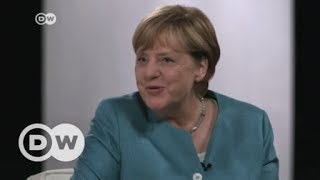 Merkel answers YouTubers' questions | DW English - DEUTSCHEWELLEENGLISH