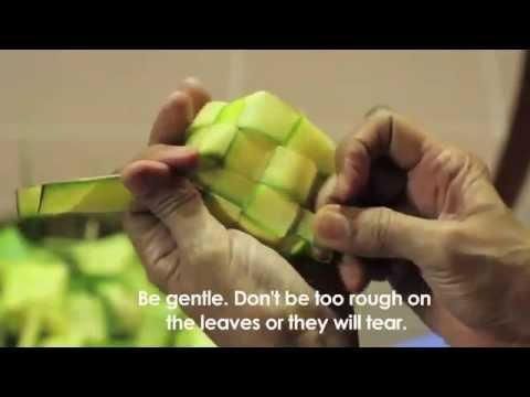 Youtube.com Videos - how to weave a ketupat jantung Videos
