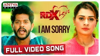 I Am Sorry Full Video Song || RDXLove Songs || Payal Rajput, Tejus Kancherla || Radhan - ADITYAMUSIC