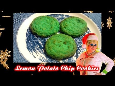 Lemon Potato Chip Cookies : Day 4 Trailer Park Christmas