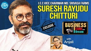 IEC Vice Chairman, MD Srinivasa Farms Suresh Rayudu Chitturi Interview | Business Icons With iDream - IDREAMMOVIES