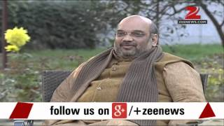 Amit Shah targets AAP leader Arvind Kejriwal in an exclusive interview with Zee News - ZEENEWS