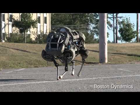 Four Legged Super Robot Runs Like A Rhino