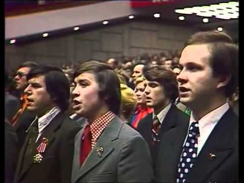 The internationale in Soviet Union National Congress 1978